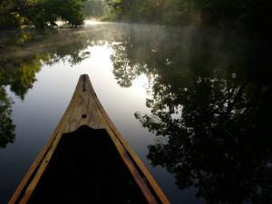 Canoeing Alexander Springs Creek, Ocala National Forest, Florida by Maresa Pryor