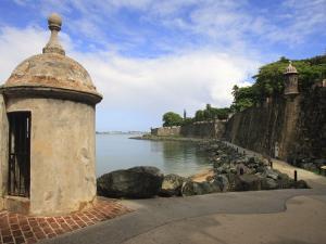 El Morro Walk, Old San Juan, Puerto Rico by Maresa Pryor