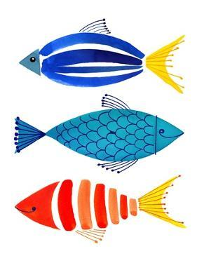 Summer Fish Trio by Margaret Berg