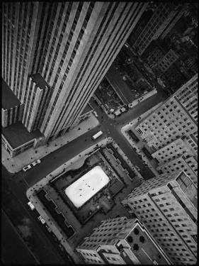 Rockefeller Complex and Skate Rink by Margaret Bourke-White