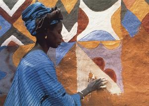 Woman in West Africa by Margaret Courtney-Clarke