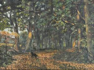 The Woodland Paths are Dry, 2003 by Margaret Hartnett