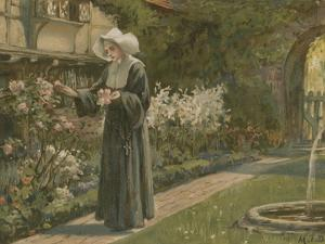Evangeline by Margaret Isabel Dicksee