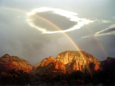 Thunder Mountain, Sedona, Arizona, USA by Margaret L. Jackson