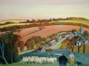 Autumn Landscape by Margaret Loxton