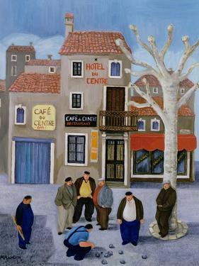 Cafe Du Centre by Margaret Loxton