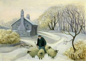Leading the Sheep by Margaret Loxton