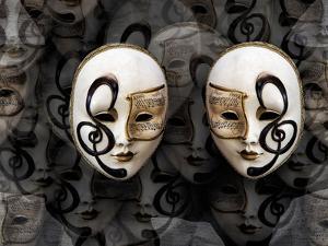 Opera Masks by Margaret Morgan