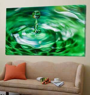 Water Drop 1 by Margaret Morgan