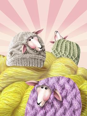 Farm Sheep Yarn by Margaret Wilson