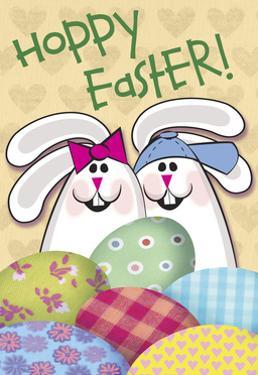 Hoppy Easter Patch Eggs by Margaret Wilson