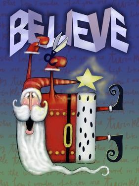 Santa Believe Letters by Margaret Wilson