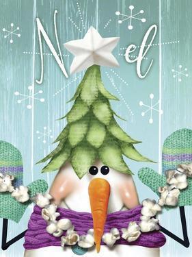 Snowman 2 Treehat by Margaret Wilson