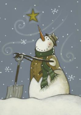 Snowman at Rest by Margaret Wilson