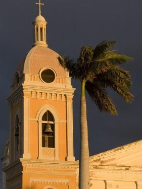 Belltower of Cathedral at Parque Colon, Granada, Nicaragua by Margie Politzer