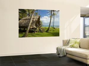 Bungalow at Derick's, Little Corn Island. by Margie Politzer