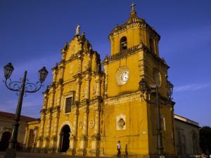 Iglesia de la Recoleccion, Leon, Nicaragua by Margie Politzer