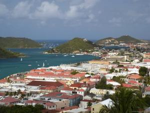 Overhead of Charlotte Amalie from Blackbeard's Castle on Government Hill by Margie Politzer