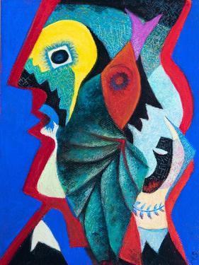 After Picasso,  pastel by Margo Starkey