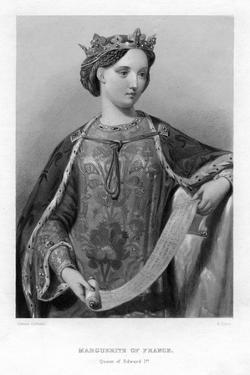 Marguerite of France, Queen of King Edward I of England by B Eyles
