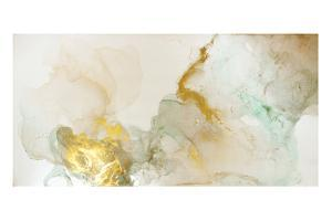 The Picture is Painted in Alcohol Ink. Abstraction Will Perfectly Fit into a Modern Interior. Close by Mari Dein