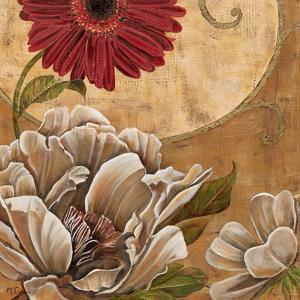 Floral Aura I by Maria Donovan