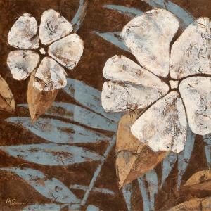 Flowers on Chocolate II by Maria Donovan