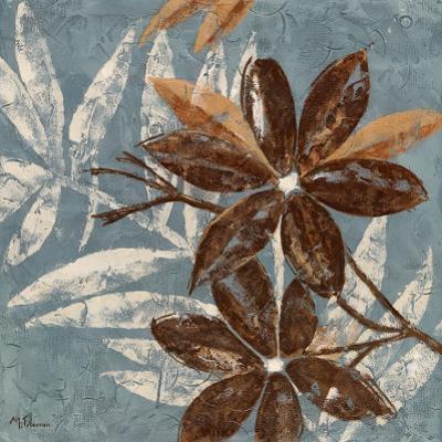 Flowers on Denim IV by Maria Donovan