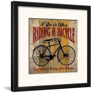 Life is Like Riding a Bicycle by Maria Donovan