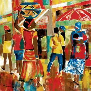 Market Day I by Maria Donovan