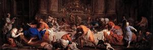 Feast in the House of Simon the Pharisee by Maria Felice Tibaldi-Subleyras