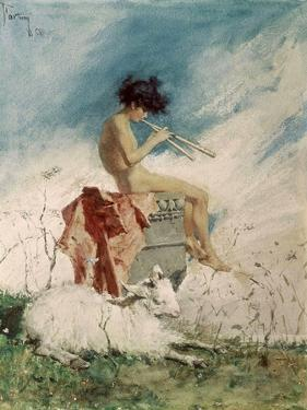 Idyll, 1868 by Maria Fortuny