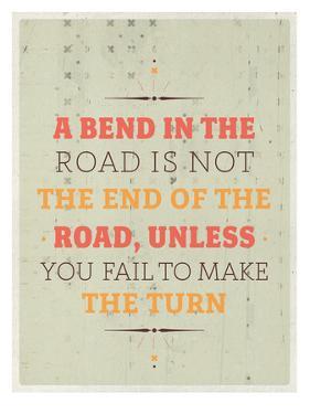 Bend in the Road by Maria Hernandez