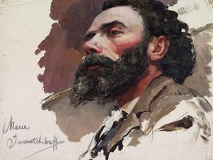 Portrait of a Man by Maria Iakunchikova