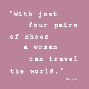 Enough Shoes by Maria Mendez