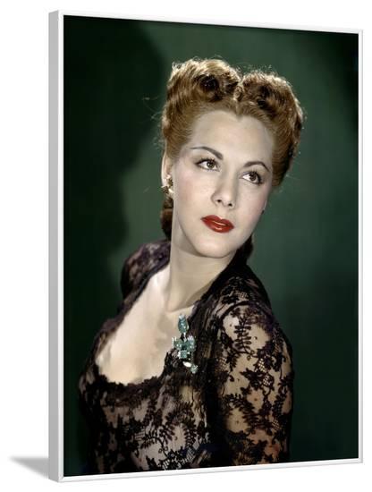 MARIA MONTEZ (photo)--Framed Photo