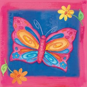 Butterfly Colors 04 by Maria Trad