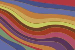 Modern Rainbow by Maria Trad