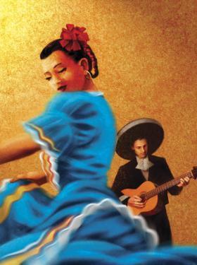 Mariachi and Flamenco Dancer