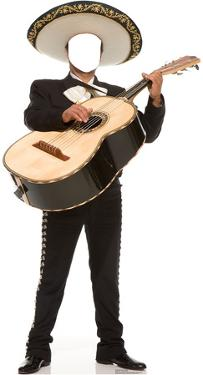 Mariachi Guitarron Stand In