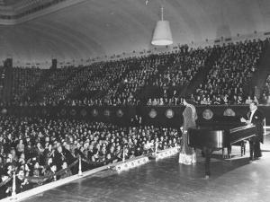 Marian Anderson Performing at the Dar Constitution Hall