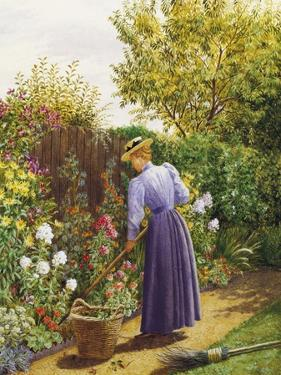 A Day in the Garden by Marian Chase