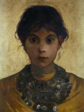 A Capri Witch, 1884-85 by Marianne Stokes