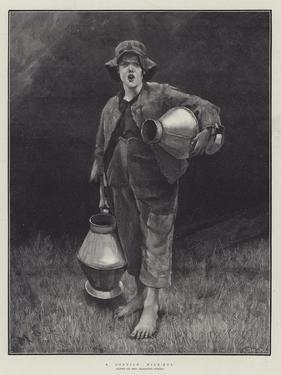 A Cornish Milk-Boy by Marianne Stokes