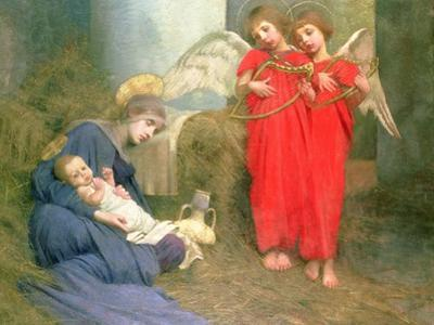 Angels Entertaining the Holy Child, 1893