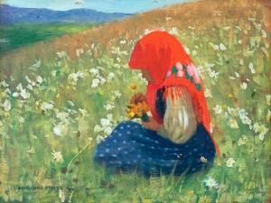 Girl of the Tatra, c.1905-07 by Marianne Stokes