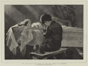Go, Thou Must Play Alone, My Boy, Thy Sister Is in Heaven by Marianne Stokes
