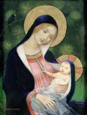 Madonna of the Fir Tree, 1925 by Marianne Stokes