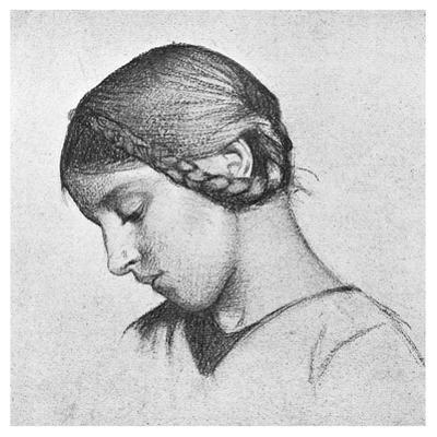 Study for St Elizabeth of Hungary, C1895