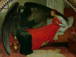 The Young Girl and Death, c.1900 by Marianne Stokes